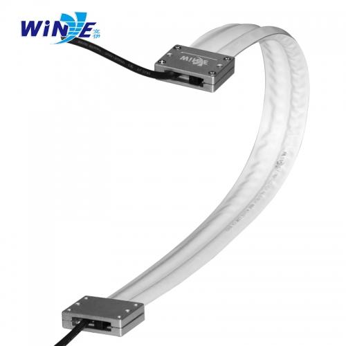 3排无尘柔性电缆拖链